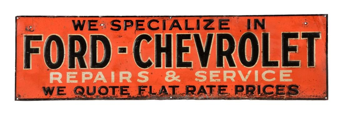 We Specialize In Ford & Chevorlet Repair & Service