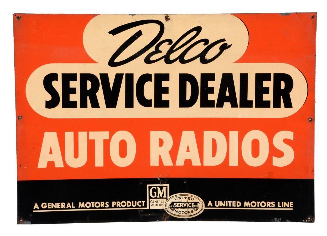Delco Auto Radios Service Dealer For GM & United Motors