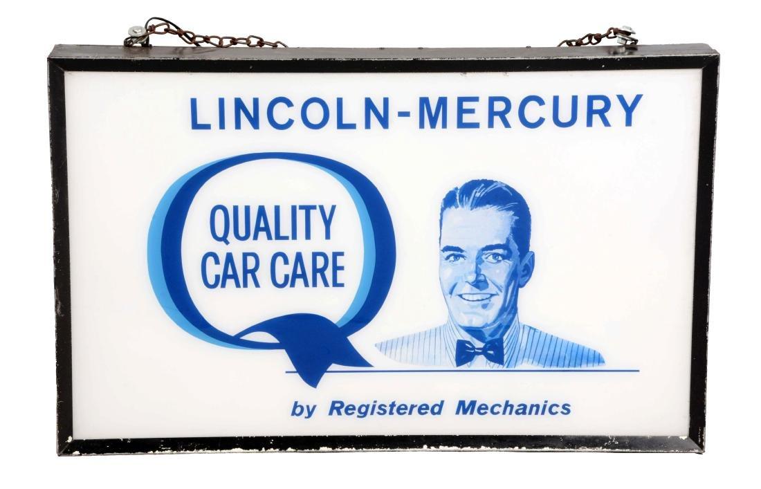 Lincoln Mercury Quality Car Care Light Up Dealership
