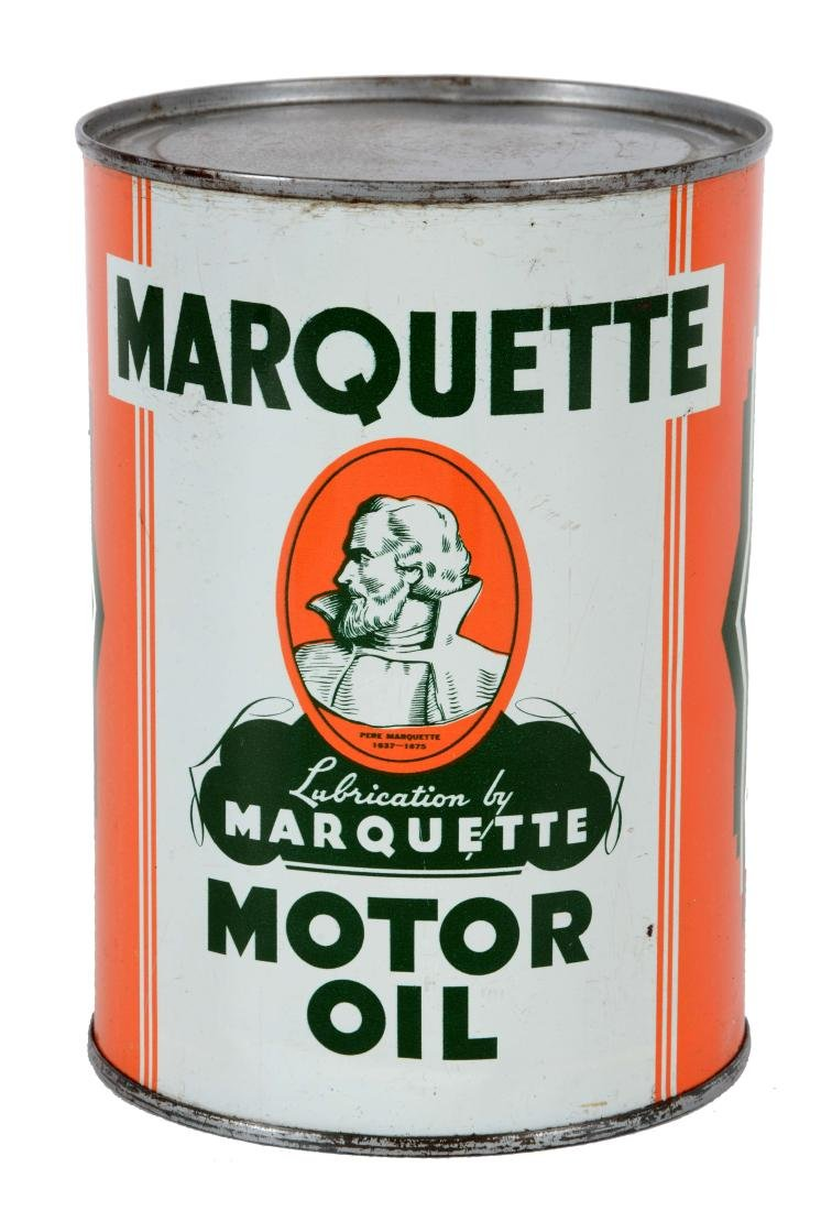 Marquette Motor Oil One Quart Can.