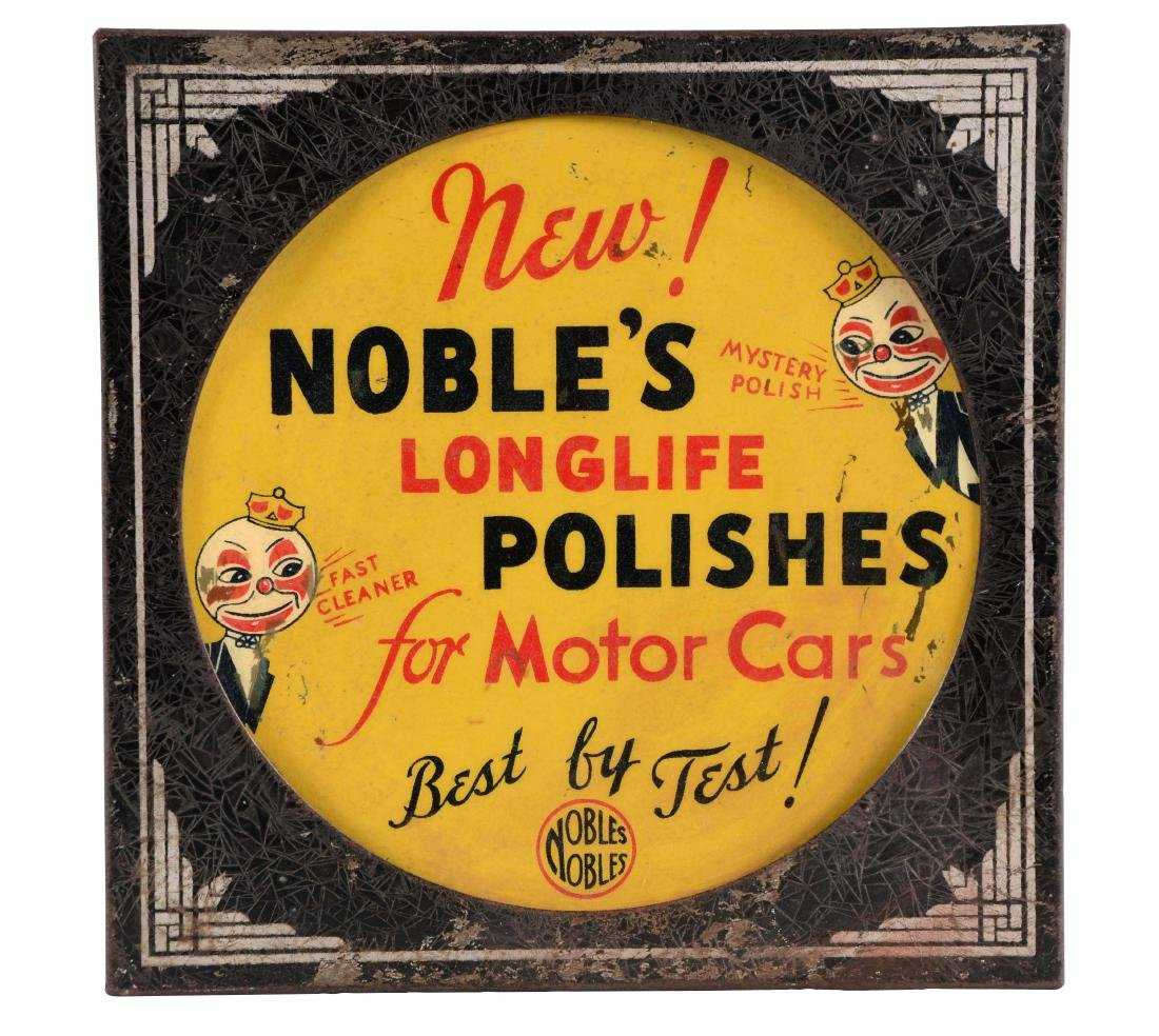 Nobel's Longlife Polishes Light Up Store Display.