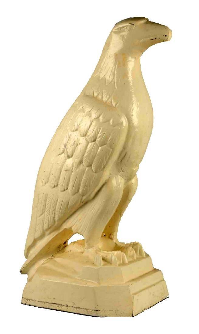 Reproduction White Eagle Gasoline Cast Iron Statue.