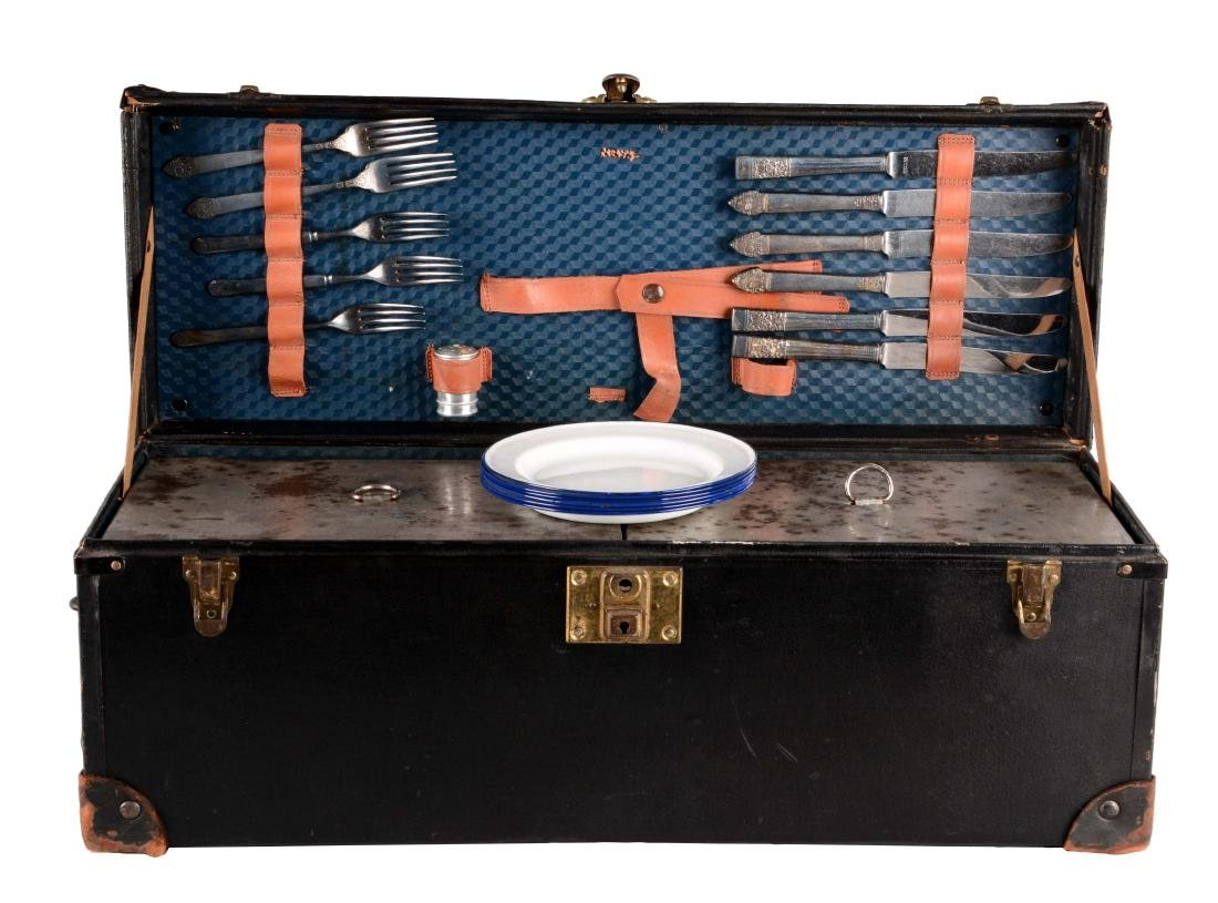 Automotive Touring Complete Picnic Trunk.