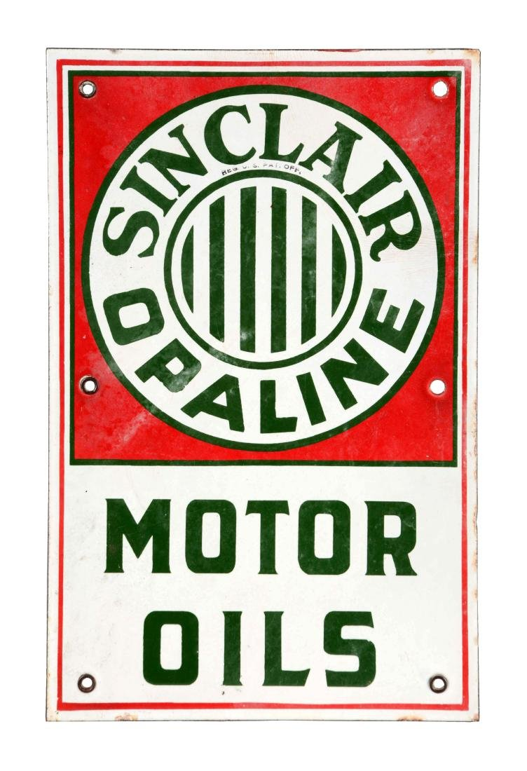 Sinclair Opaline Motor Oils Porcelain Lubster Cart