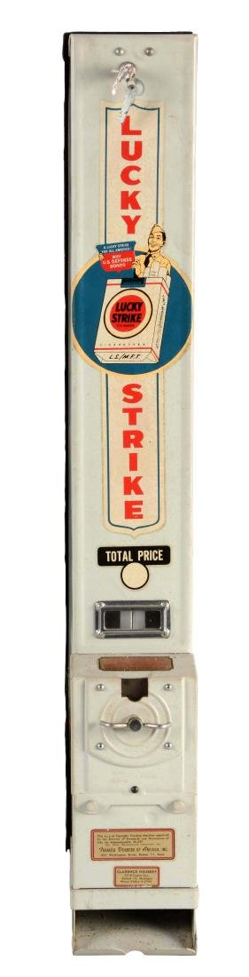Lucky Strike Cigarette Vending Machine.