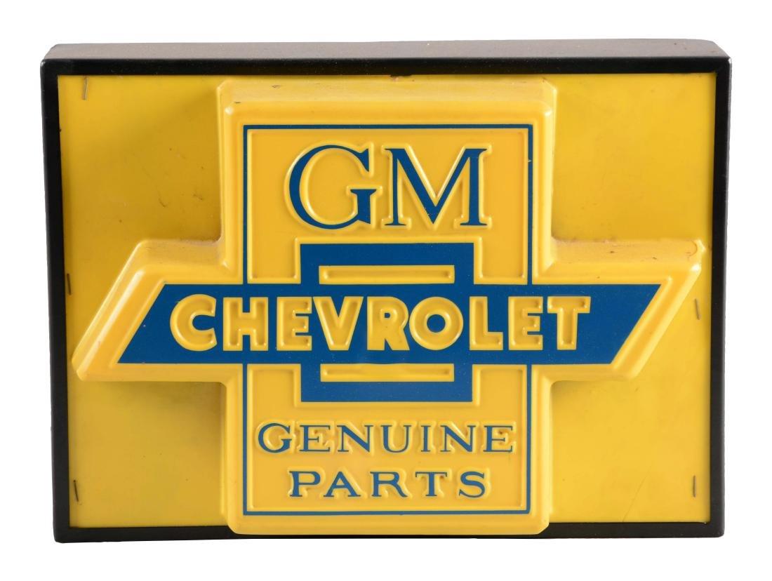 Chevorlet & GM Genuine Parts Plastic Light Up Store