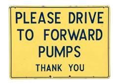 Richfield Please Drive to Forward Pumps Porcelain