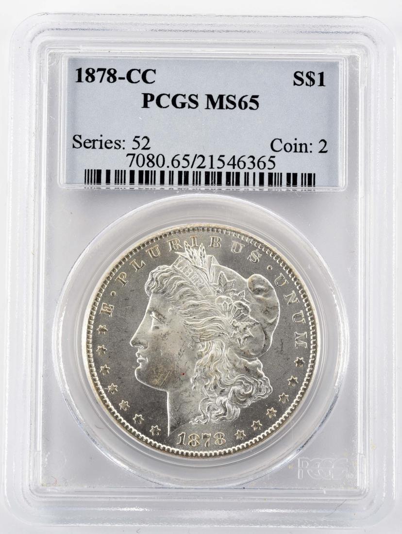 1878 CC Carson City Morgan Silver Dollar.