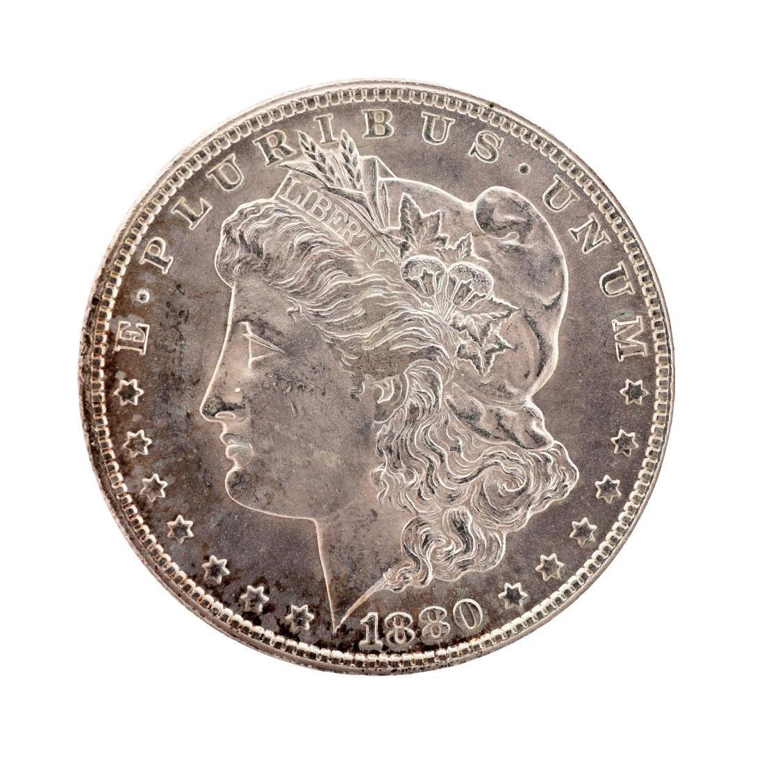 1880-CC Carson City Silver Dollar.