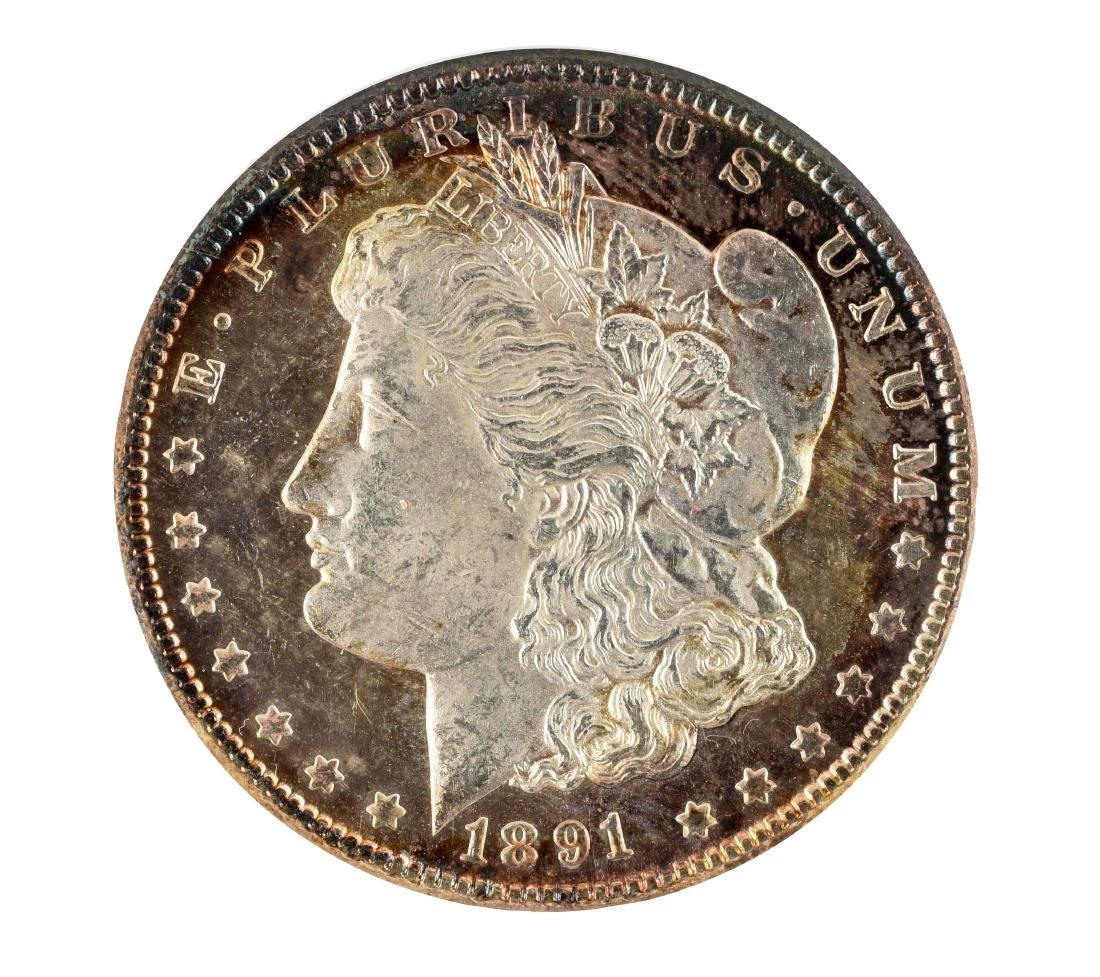 1891 CC Carson City Morgan Silver Dollar.