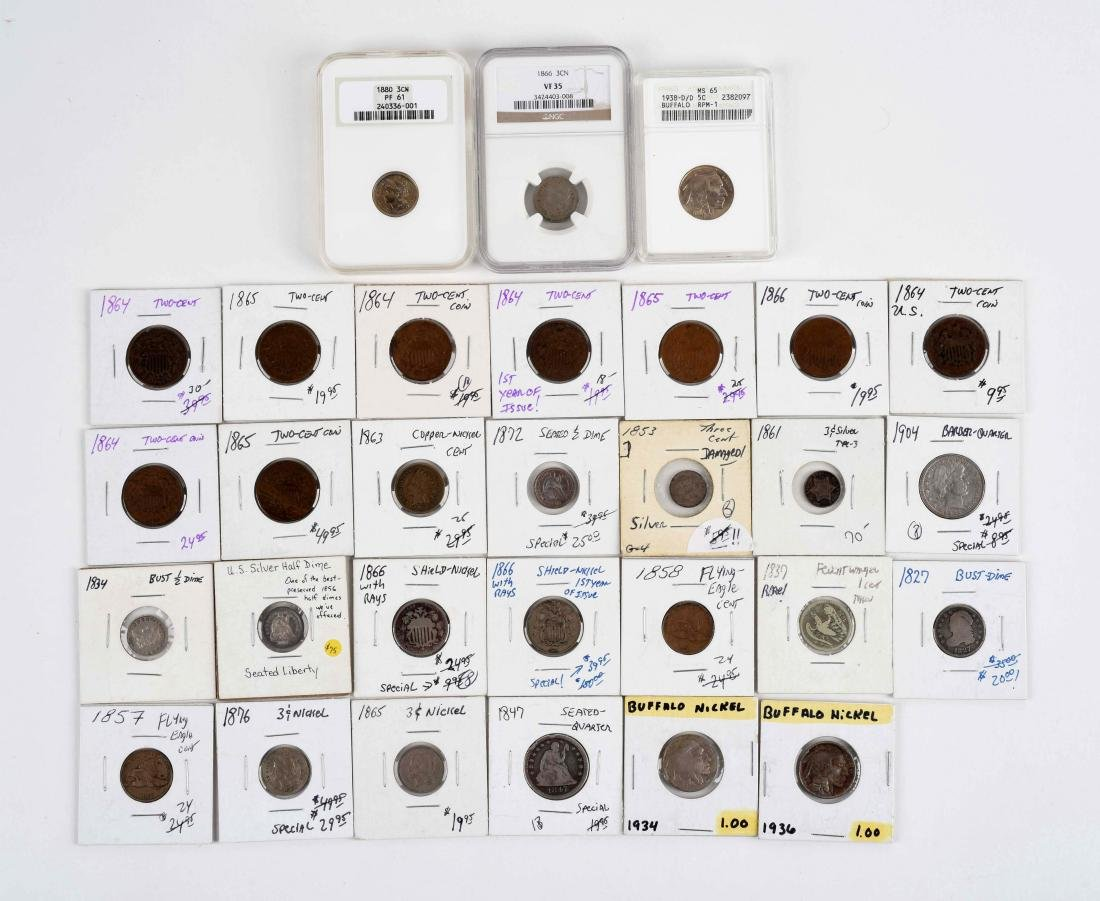 Lot Of U.S Coins.
