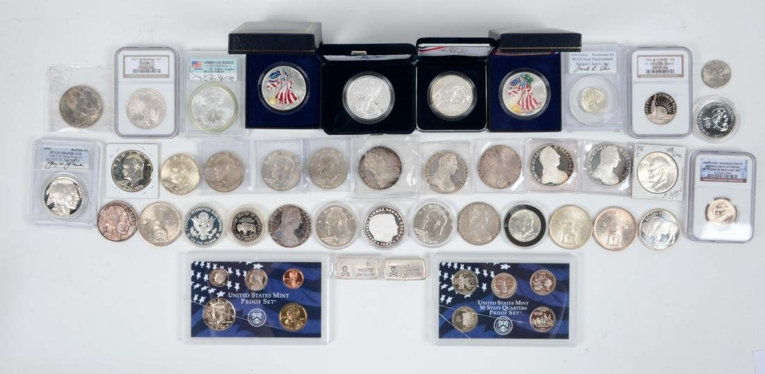 Lot Of Silver 40% & 90%.