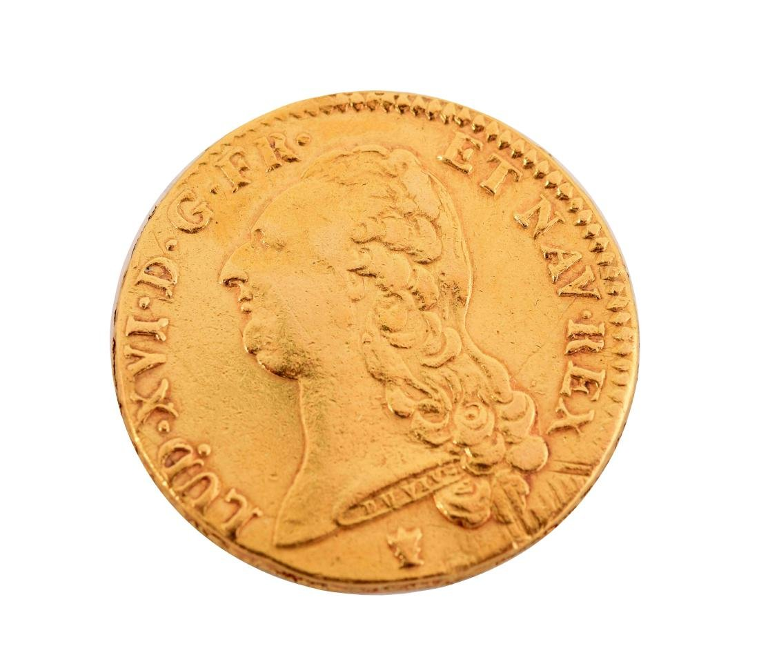 1786 Gold French Coin.