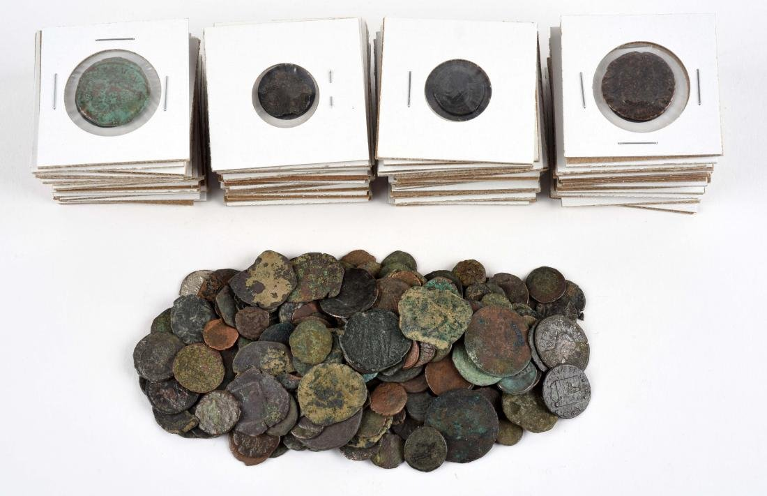 Large Collection of Roman Coins.