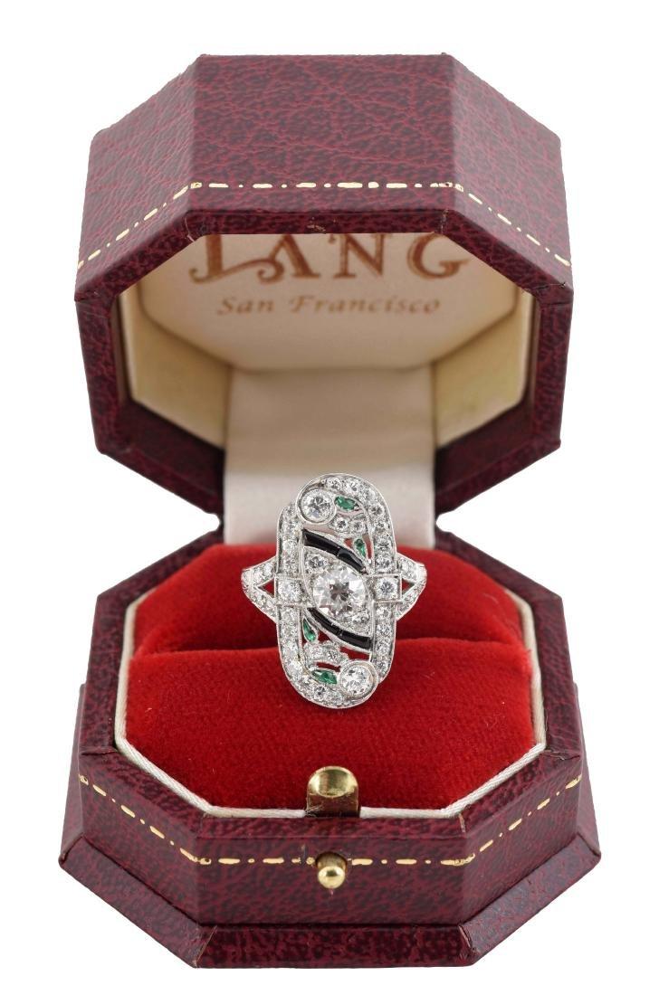 Platinum Diamond Ring.