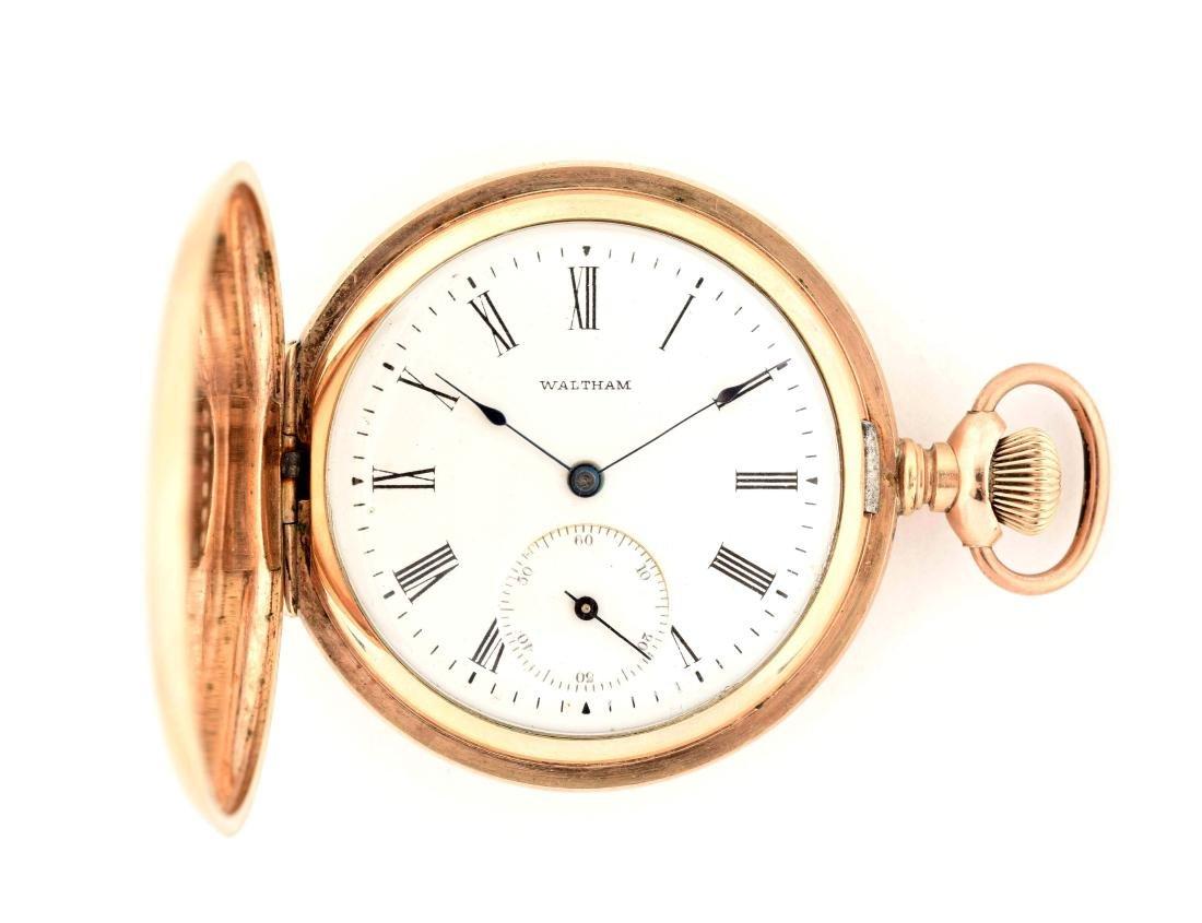 Waltham Gold Filled Pocket Watch.