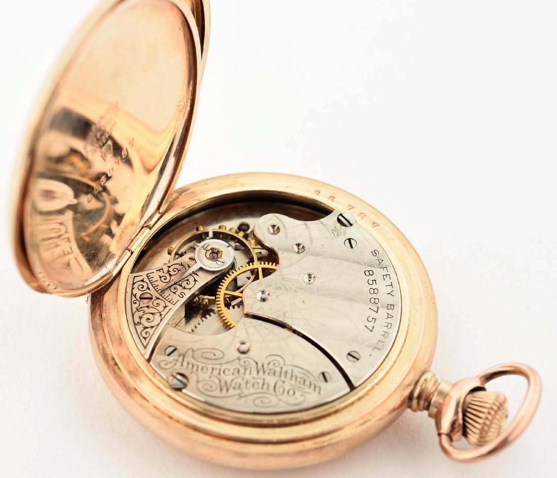 Waltham Gold Filled Pocket Watch. - 5