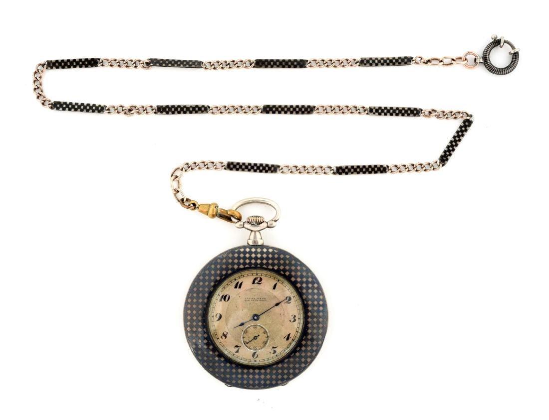 Leubebron Pocket Watch.