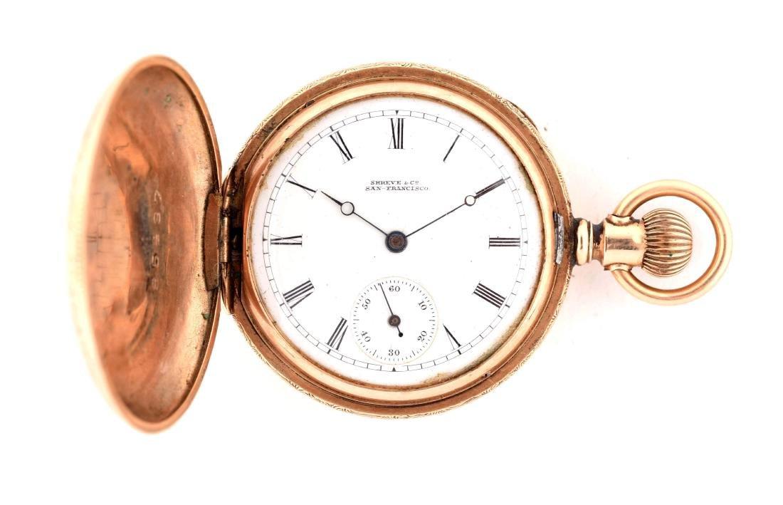 Shreve & Co. Pocket Watch.
