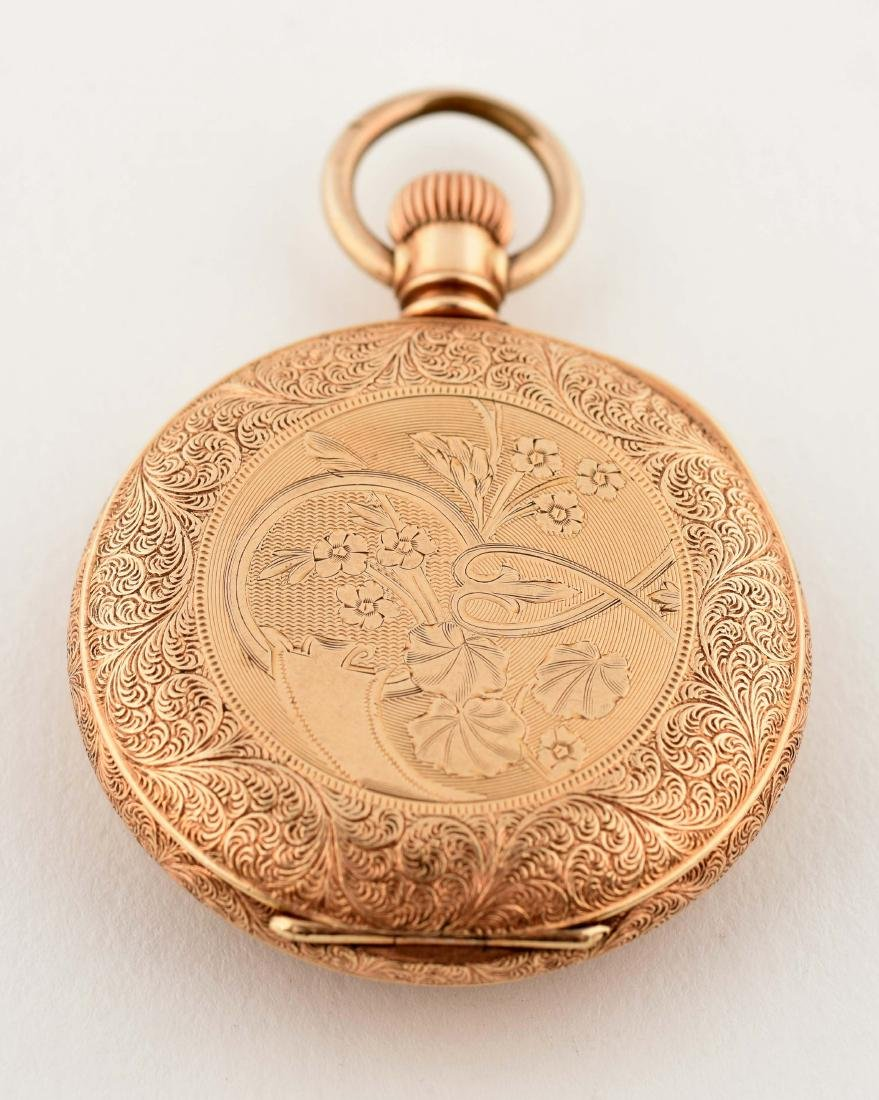 Waltham Gold Filled Open Face Pocket Watch. - 2