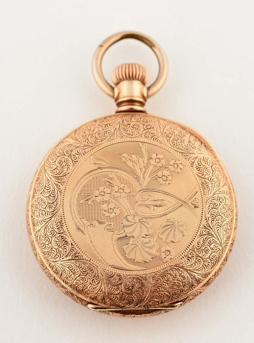 Waltham Gold Filled Open Face Pocket Watch. - 3