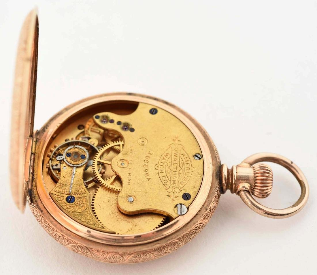 Waltham Gold Filled Open Face Pocket Watch. - 4