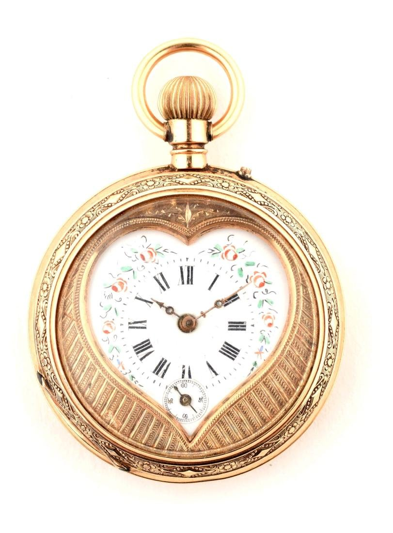 Pocket Watch with Heart.
