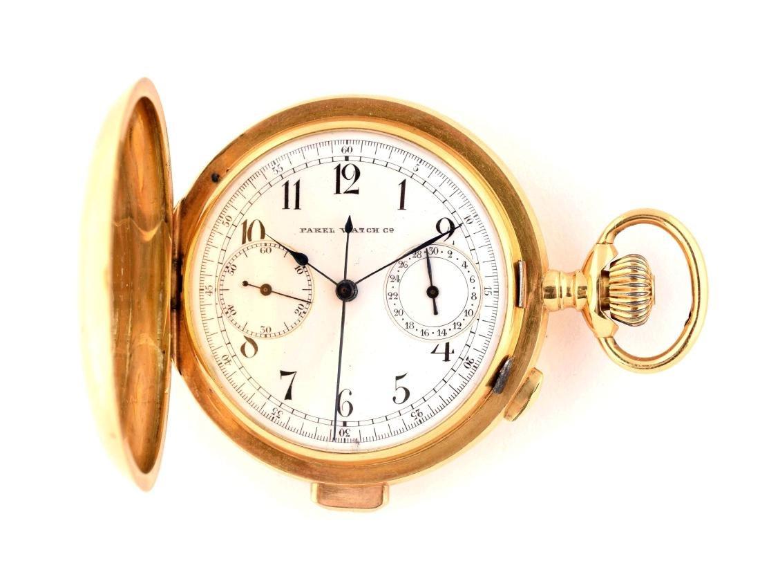 Parel Watch Co 18K Pocket Watch