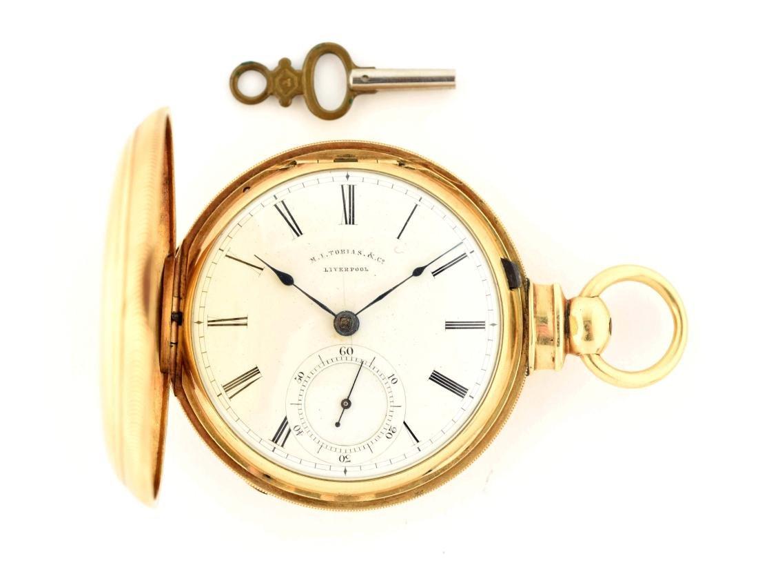 M.I. Tobias & Co. Pocket Watch.
