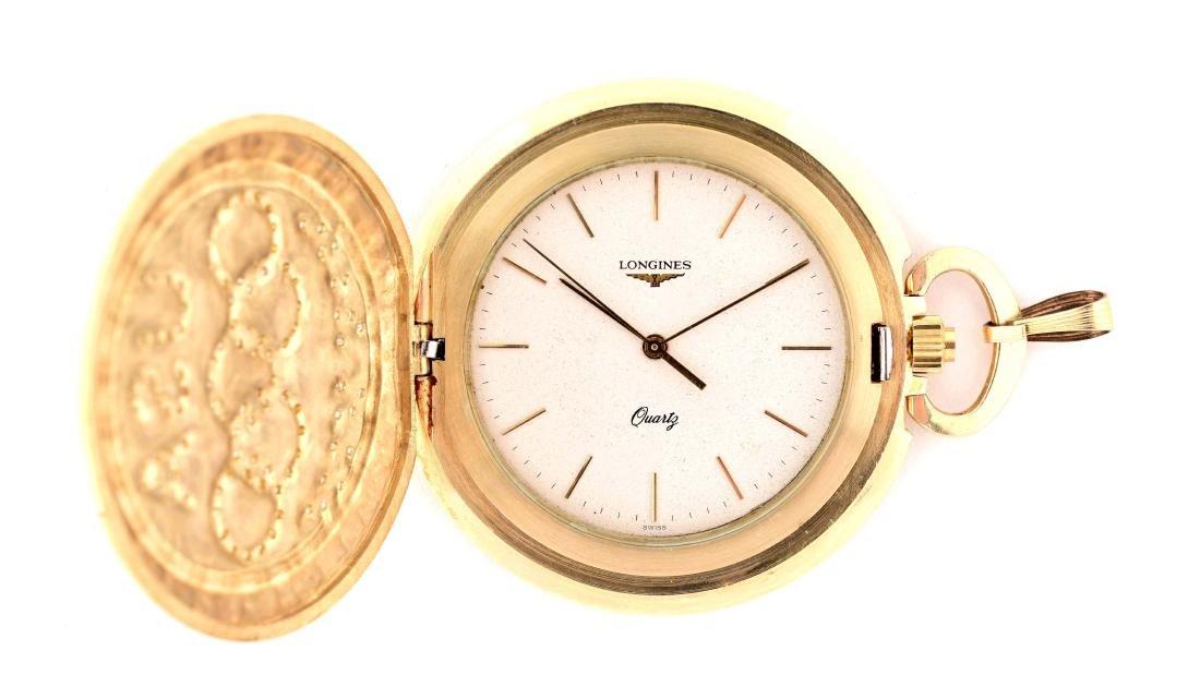 Longines Olympiad 14k Pocket Watch.