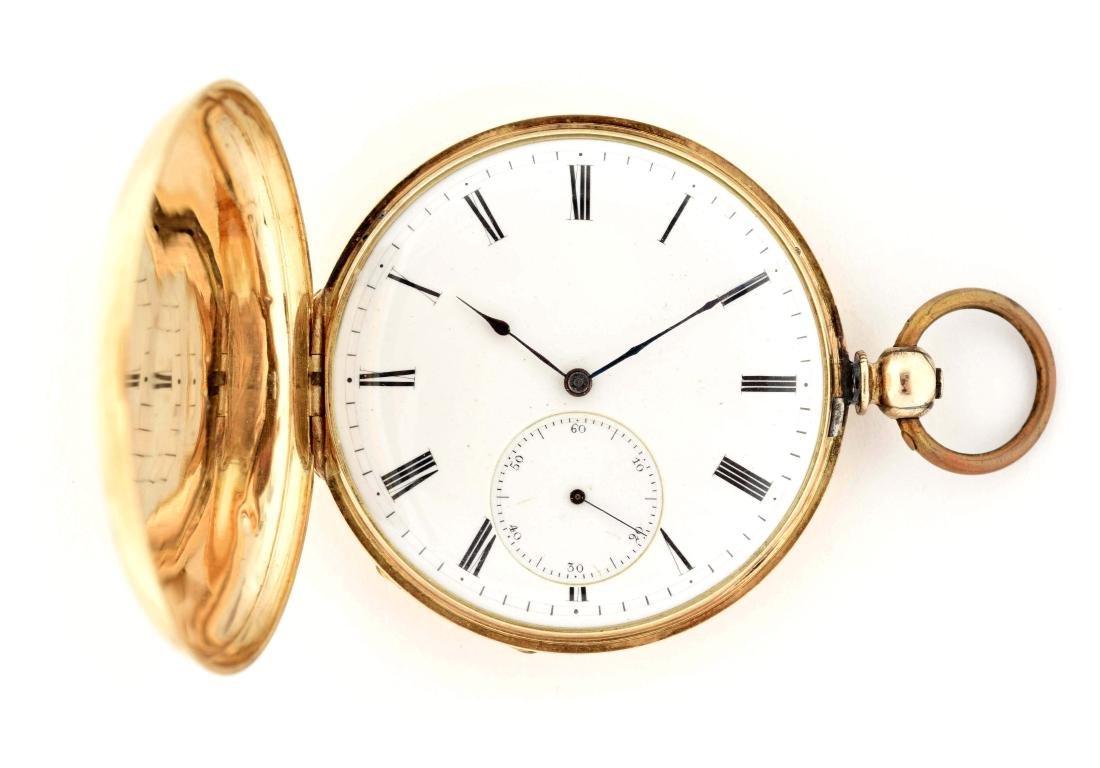 Cooper Gold Filled Pocket Watch.