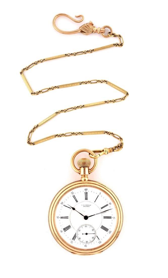 C.H. Meylan Brassus Pocket Watch.