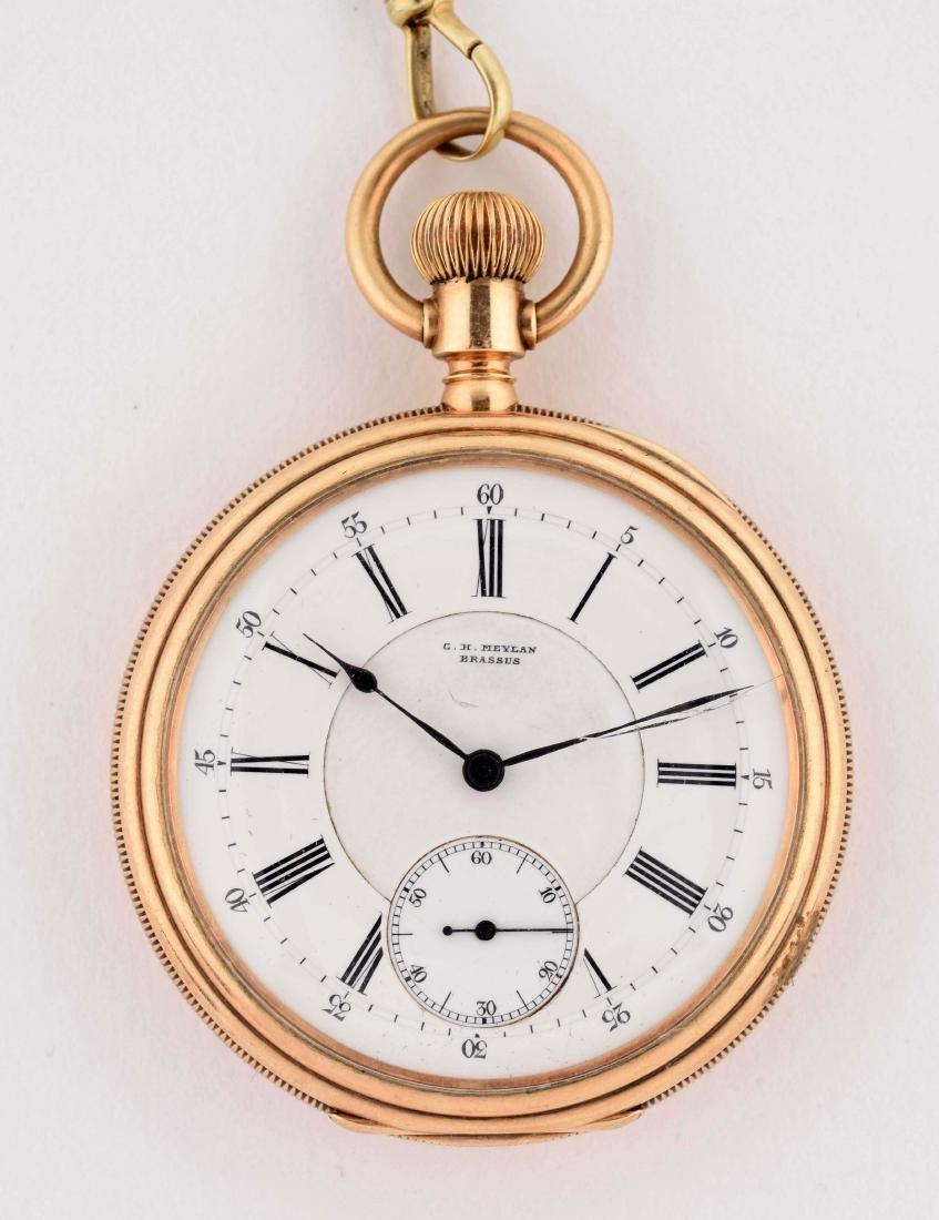 C.H. Meylan Brassus Pocket Watch. - 2