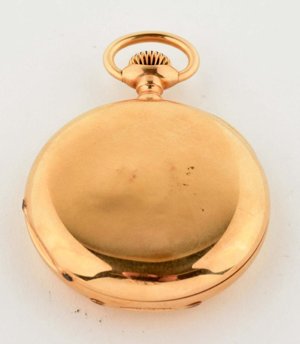 Patek Philippe Co. 18K Gold Pocket Watch. - 3