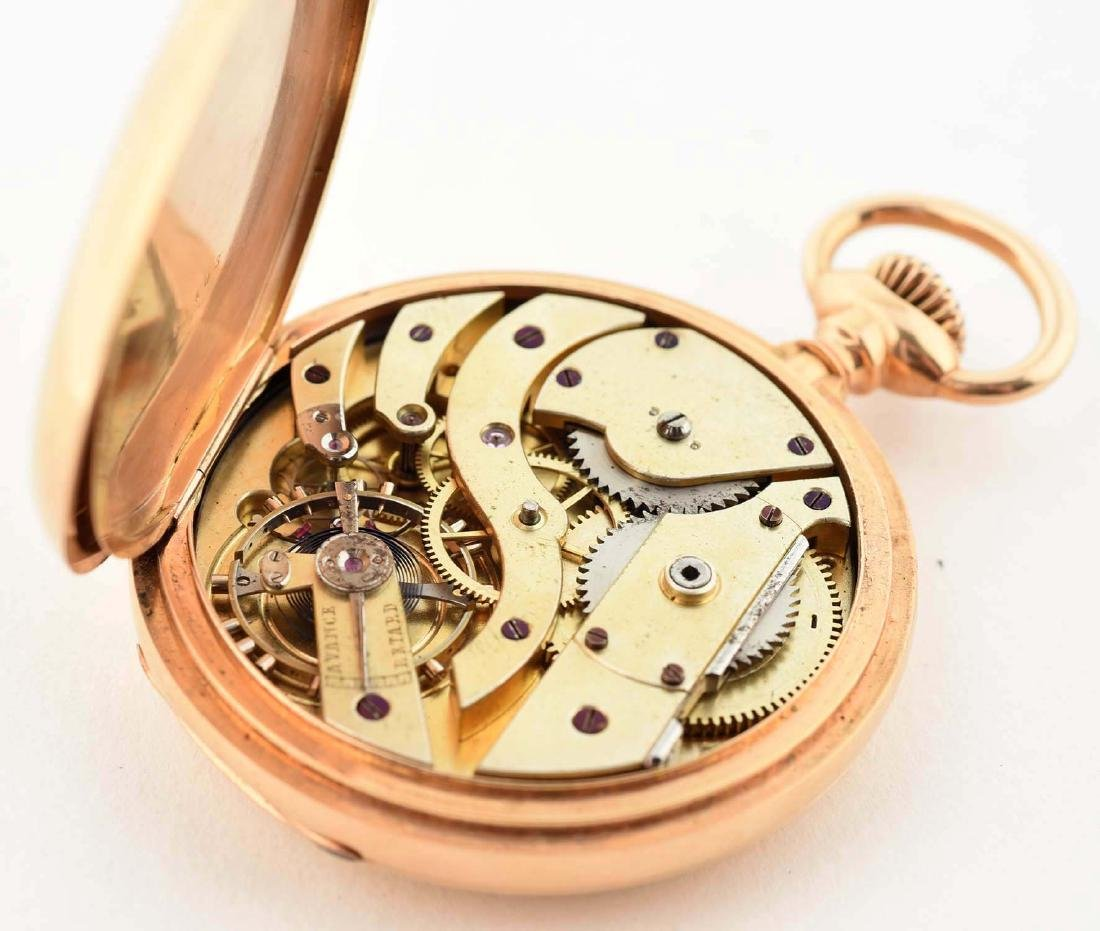 Patek Philippe Co. 18K Gold Pocket Watch. - 5