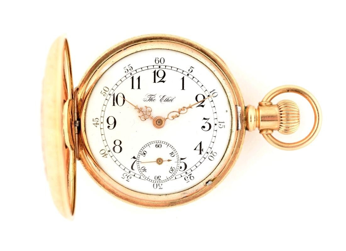 The Ethel Gold Filled Pocket Watch.