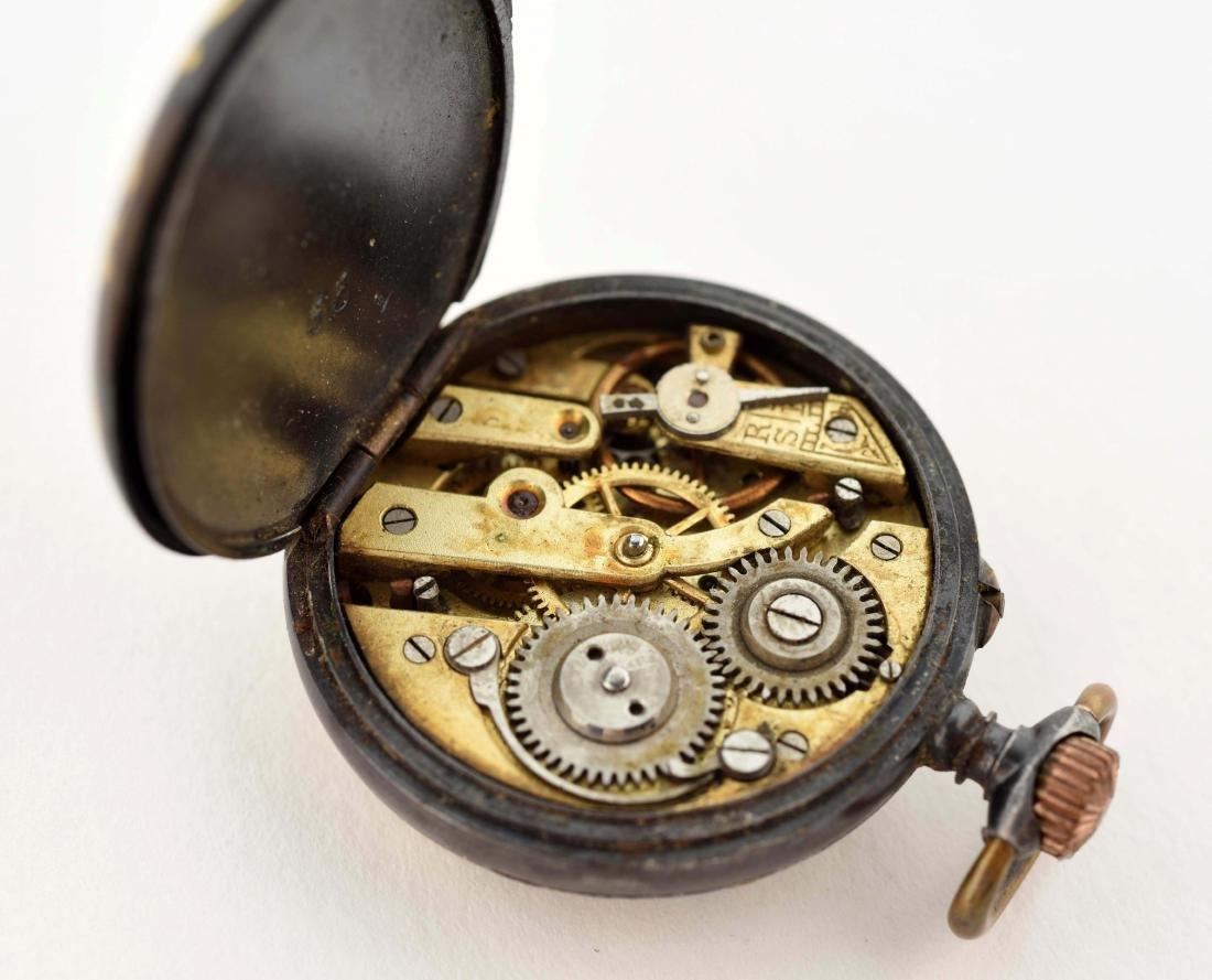 Small Black Pocket Watch. - 3