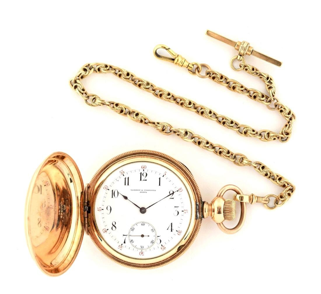 Vacheron & Constantin Gold Filled Pocket Watch.