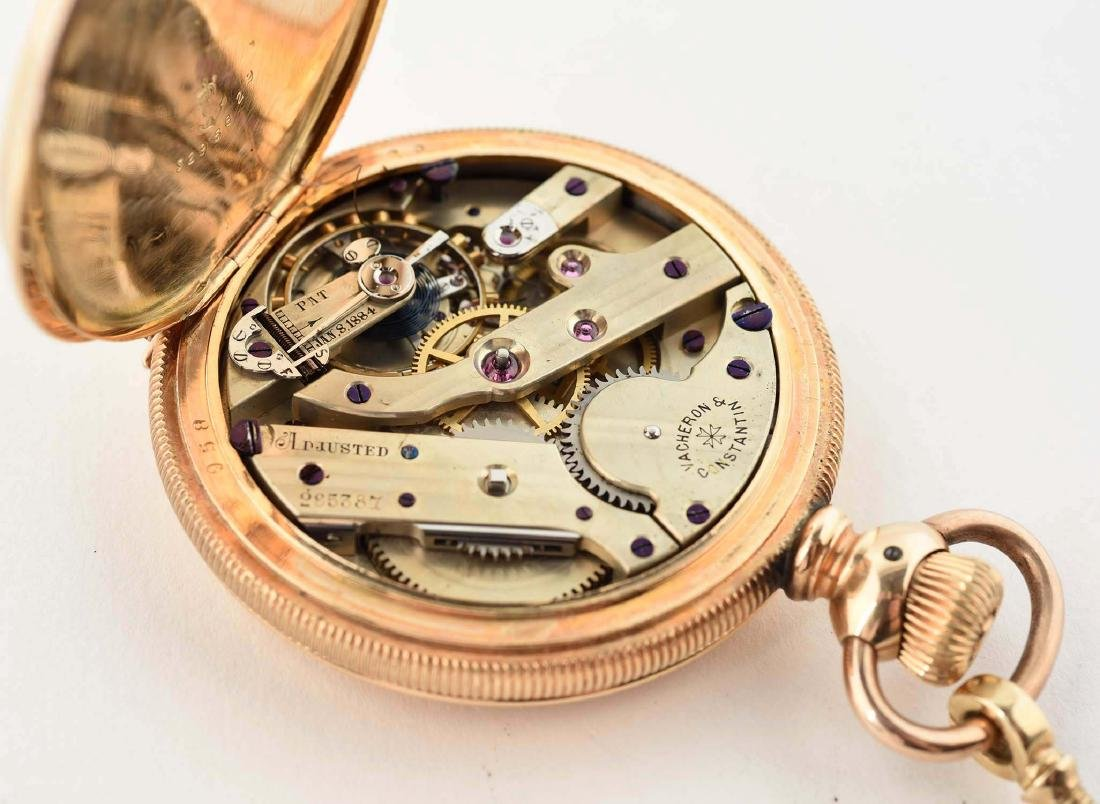 Vacheron & Constantin Gold Filled Pocket Watch. - 6