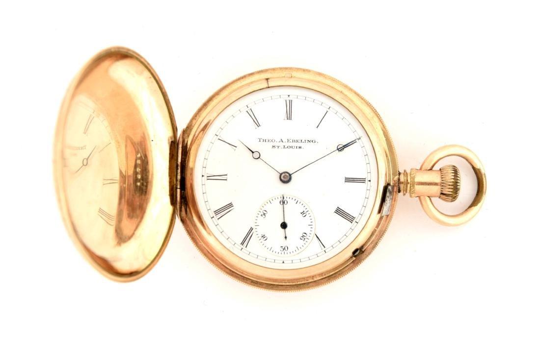Theo Ebeling Pocket Watch.