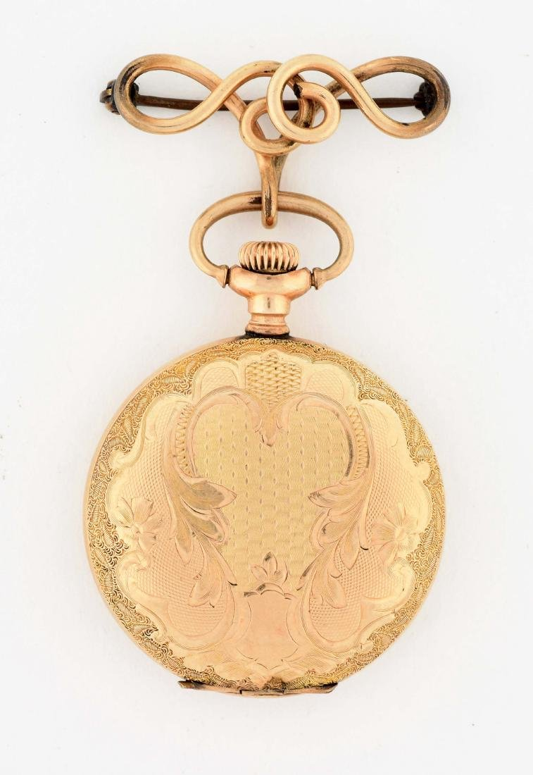 Ladies Waltham Gold Filled Pocket Watch. - 2