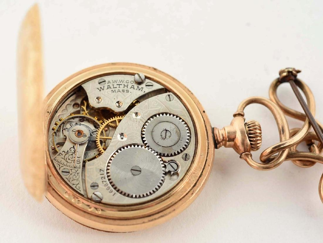 Ladies Waltham Gold Filled Pocket Watch. - 7