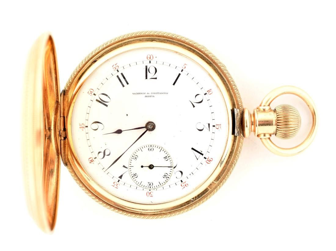 Vacheron & Constantin 14K Gold Pocket Watch.