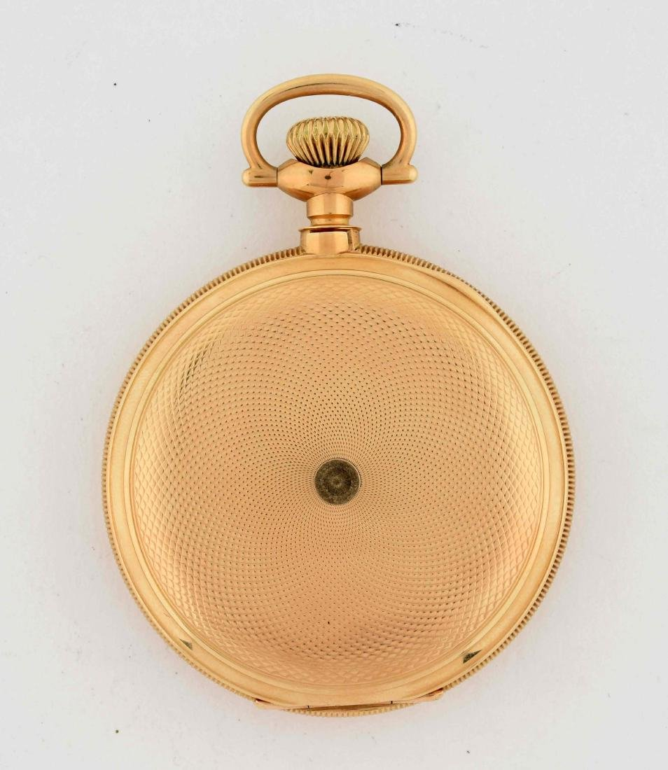 E. Howard 14K Gold H/C Pocket Watch 23j Size 16. - 2