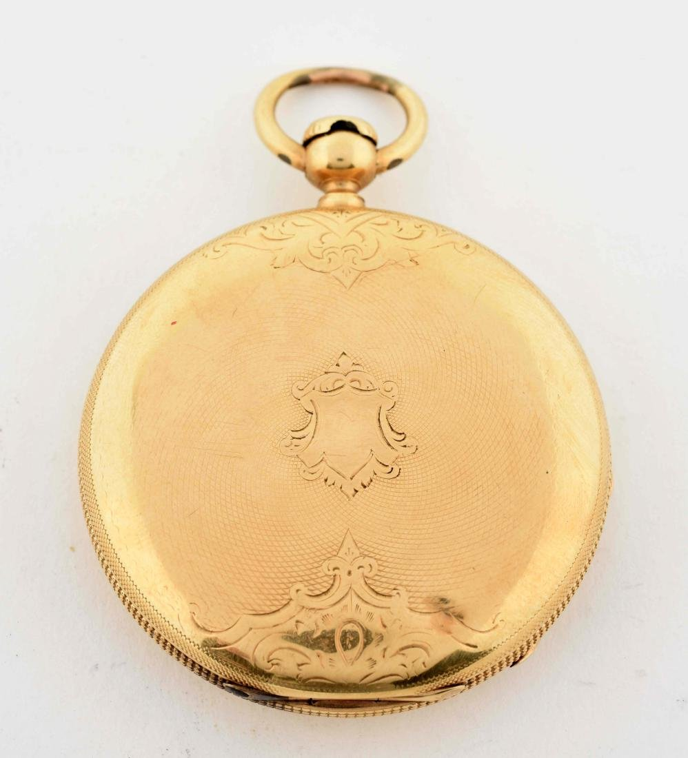 E. Howard & Co. 18K Gold Pocket Watch. - 2