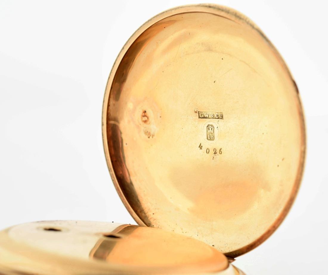 E. Howard & Co. 18K Gold Pocket Watch. - 4