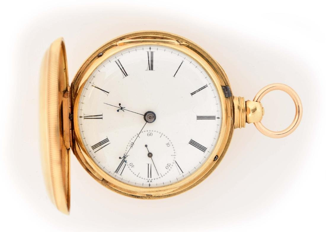 Johnson Liverpool Fusee Pocket Watch.
