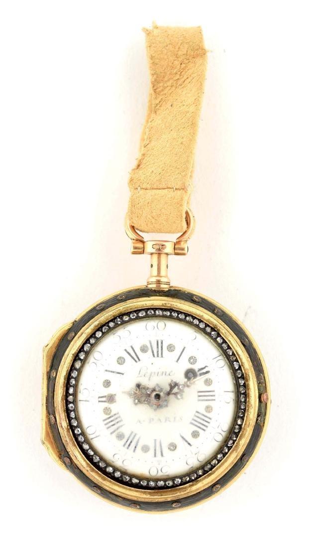Lepine Pocket Watch.