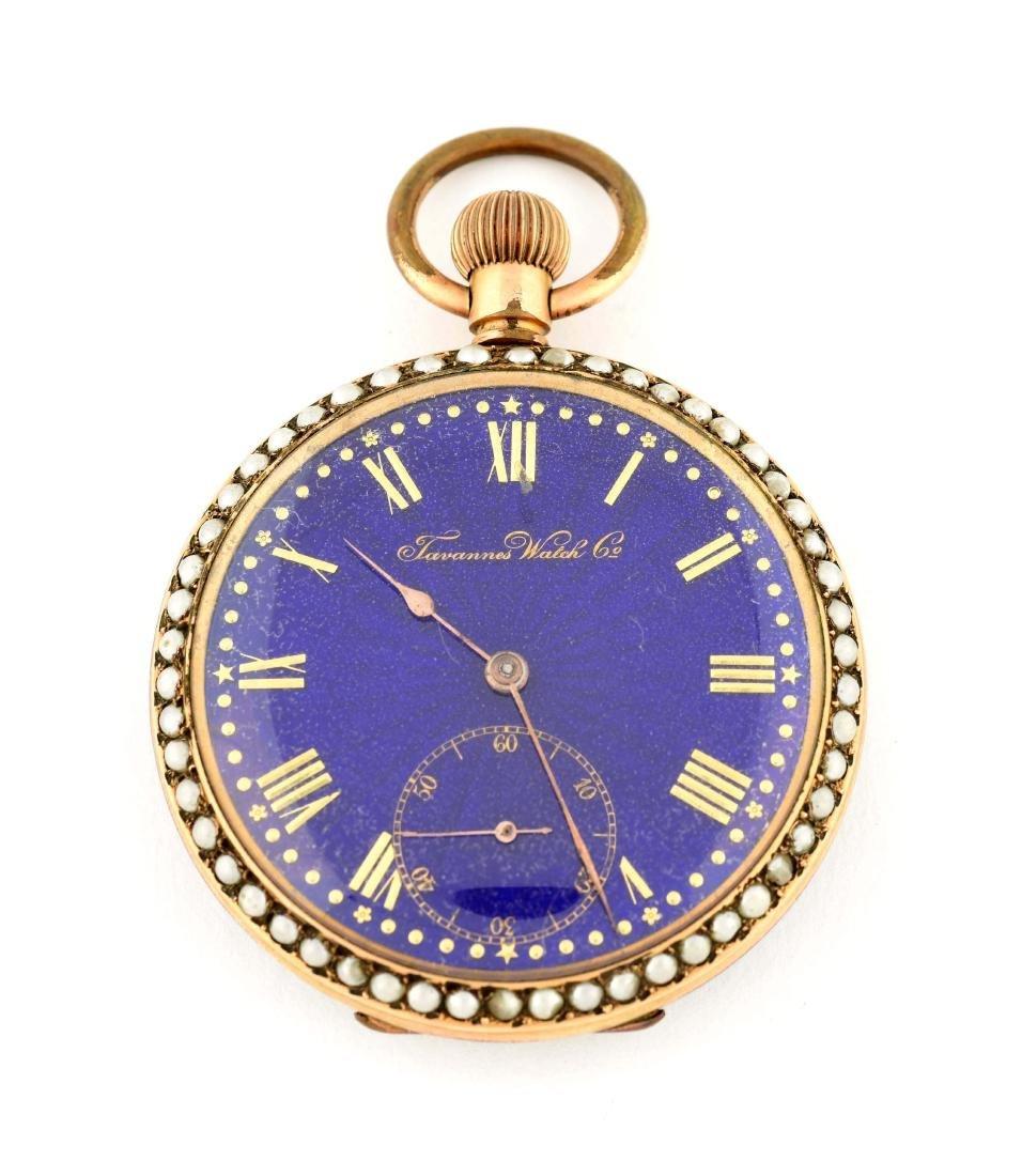 Tavannes Watch Co. Pocket Watch.