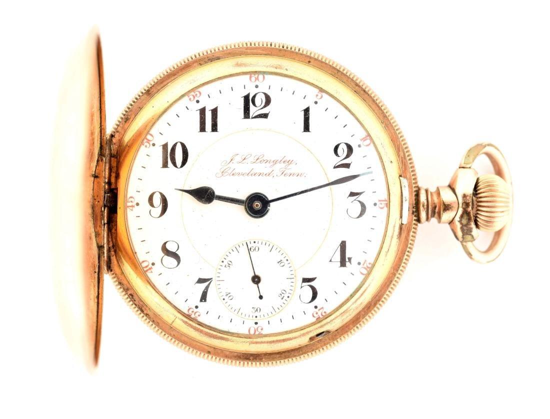 Rockford for J.L. Longley Gold Filled H/C Pocket Watch